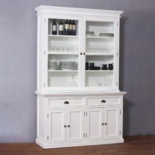 Halifax 2 Door and 2 Drawer Buffet and Hutch