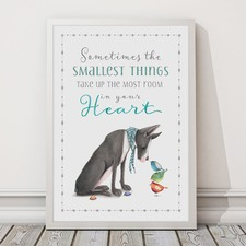 Sometimes The Smallest Things Framed Print