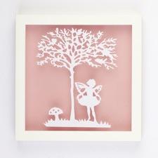 Fairy Framed Paper Art