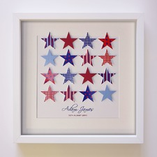 Molle Stars Handcrafted Paper Art Frame