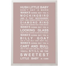 Hush Little Baby Framed Print