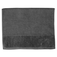 Jenny Mclean Royal Excellency Bath Mats 1100GSM Charcoal (Set of 2)