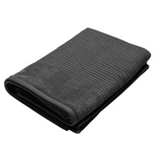 Jenny Mclean Royal Excellency Bath Towel 600GSM Charcoal (Set of 2)