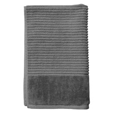 Jenny Mclean Royal Excellency Hand Towel 600GSM Charcoal (Set of 6)