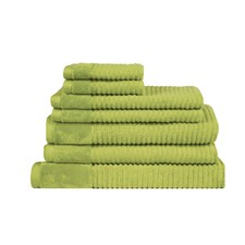 Jenny Mclean Royal Excellency 7 Piece Bath Linen Set Spearmint Green