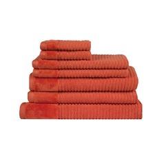Jenny Mclean Royal Excellency 7 Piece Bath Linen Set Orange