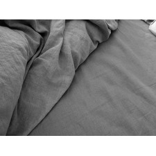 Silver & Grey Nina Linen Sheet Set