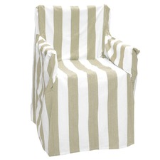 Stripy Al Fresco Director Chair Cover