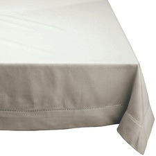 Hemstitch Square Cotton Tablecloth