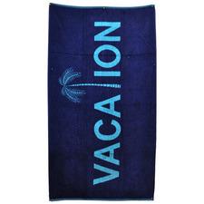 Vacation Jacquard Velour Beach Towel