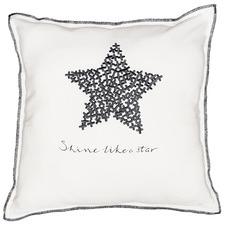 Shine Like A Star Cotton Reversible Cushion