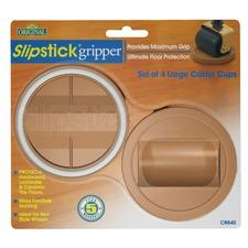 Slipstick Large Castor Cup (Set of 4)