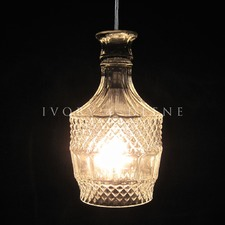 Wine Decanter Pendant Light Brandy