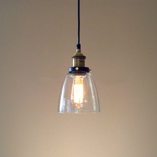 Lucy Glass Pendant Light