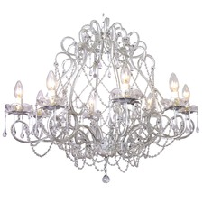 Layla Jane Raindrop 8 Light Chandelier