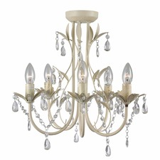 Harmony 5 Light Crystal Chandelier