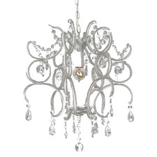 Jewel Shabby 1 Light Chandelier