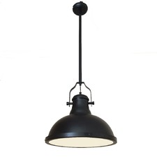 Amani Matte Black Pendant Light