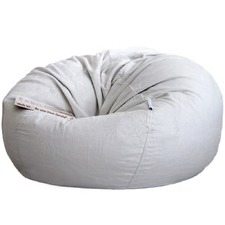 Jacinta Large Velvet Faux Fur Beanbag Cover