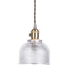 Gold Vintage-Style Emmie Pendant Light
