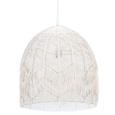Amalfi Rattan Lace Pendant Light