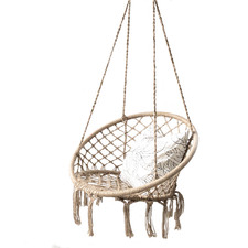 Natural Madrid Rope Hanging Chair