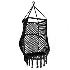 Bondi Macrame Hand-Woven Cotton Hammock Chair