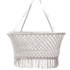 Indie Macrame Cotton Hanging Bassinet