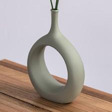 Magnolia Ceramic Vase