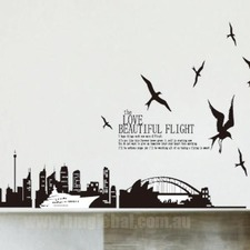 Gorgeous Sydney Darling Harbour Wall Art Decal
