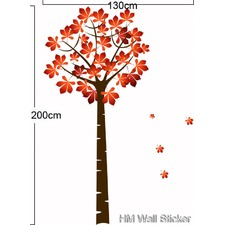 Maple Tree Wall Sticker
