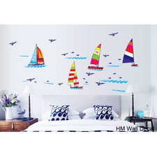 Yacht DIY Removable Wall Decal