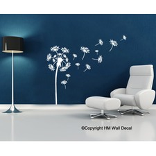 dandelions diy removable wall decal - Wall Decals