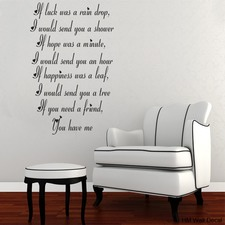 Inspiration Wall Quote Art Decal