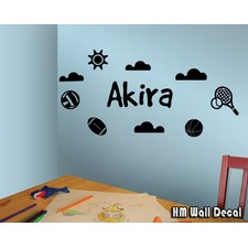 HM Wall Decal Youth Wall Decorations