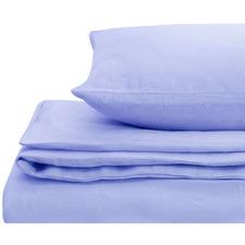 Indigo European Flax Linen Quilt Cover Set