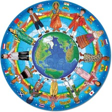 Melissa & Doug Children of the World 48 Piece Floor Puzzle