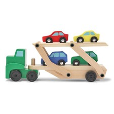 MELISSA & DOUG Classic Wooden Car Carrier