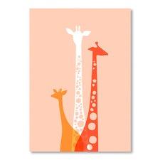 Giraffes Trio Wall Art