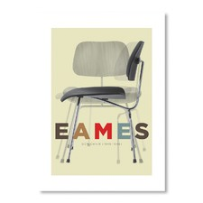 Eames DCM Chair Wall Art