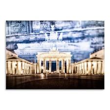 Berlin Brandenburg Gate In Detail Print