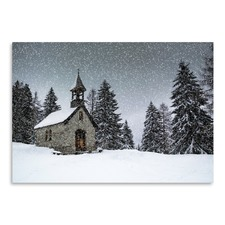 Bavarian Winter's Tale Anna Chapel Print