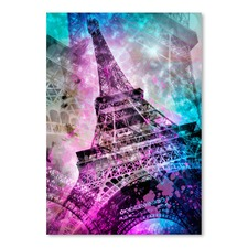Pop Art Paris Eiffel Tower Print