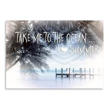 Text Art I Love Summer Print