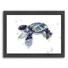 Sea Turtle Babe I Print