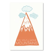 Move Mountains Printed Wall Art
