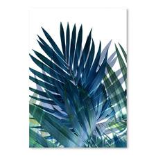 Palms Leaves Printed Wall Art