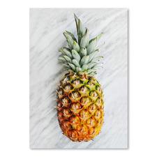 Pineapple on Marble Printed Wall Art