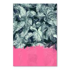 Pink Sorbet Jungle Printed Wall Art