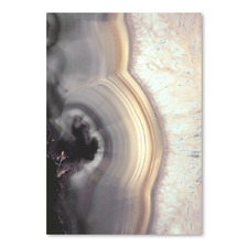 Taupe Agate Printed Wall Art
